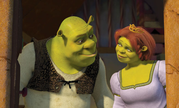 Geek Couples: Shrek and Fiona - Warped Factor - Words in the Key ...